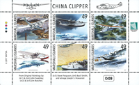 Marshall Islands - China Clipper - Mint set 6v