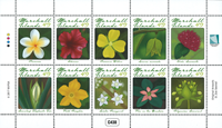 Marshall Øerne - Blomster - Postfrisk sæt 10v