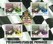 Monaco - Grand Prix 2017 - Postfrisk miniark
