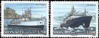 Monaco - Ships - Mint set 2v