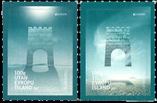 Island - Europa 2017 - Postfrisk sæt 2v