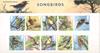 England - Sangfugle - Souvenirmappe