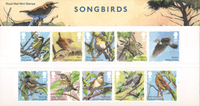 Great Britain - Songbirds - Presentation pack