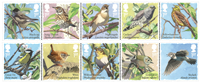 Great Britain - Songbirds - Mint set 10v