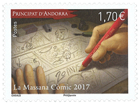 France - La Massana Comic - Mint stamp