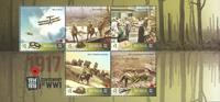 Australien - Første Verdenskrig 1917 - Postfrisk miniark