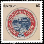 Austria - Schlierbacher cheese - Mint stamp
