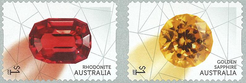 Australien - Sjældne skønheder - Postfrisk selvkl. sæt 4v