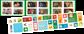 Frankrig - Husdyr - Postfrisk frimærkehæfte