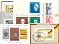 West Duitsland/Berlijn - Dubbelenpartij souvenirvelletjes
