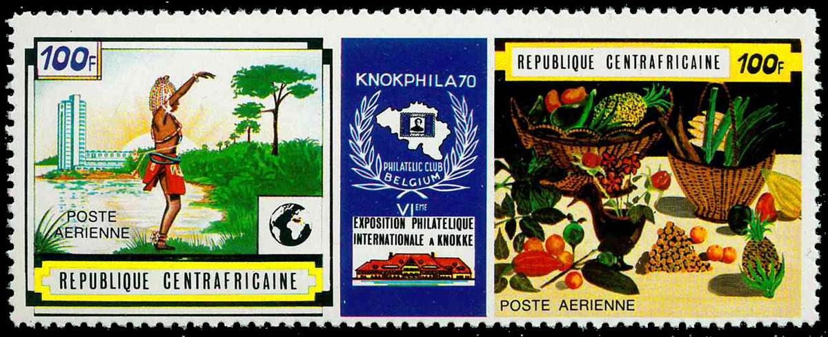 Centralafrika - YT PA85A - Postfrisk