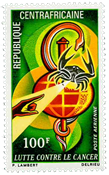Central Africa - YT PA95 - Mint