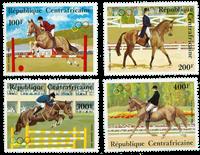 Centralafrika - YT PA276-79 - Postfrisk