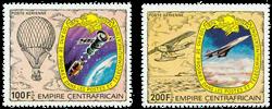 Centralafrika - YT PA187-88 - Postfrisk