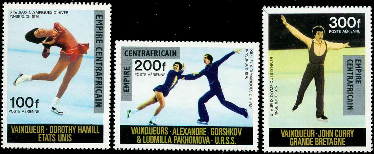 Centralafrika - YT PA175-77 - Postfrisk