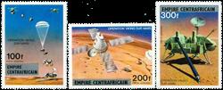 Centralafrika - YT PA178-80 - Postfrisk