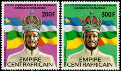 Centralafrika - YT PA184-85 - Postfrisk