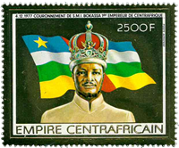 Central Africa - YT PA186 - Mint