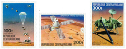 Centralafrika - YT PA153-55 - Postfrisk