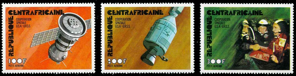 Centralafrika - YT PA140-42 - Postfrisk