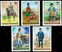 Centralafrika - YT PA143-47 - Postfrisk