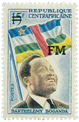 Centralafrika - YT M1 - Postfrisk