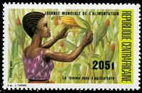 Centralafrika - YT 649 - Postfrisk