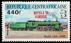 Centralafrika - YT 654 - Postfrisk