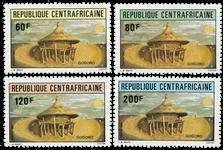 Centralafrika - YT 544-47 - Postfrisk