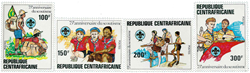 Centralafrika - YT 491-94 - Postfrisk