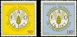 Centralafrika - YT 466-67 - Postfrisk