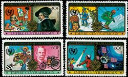 Centralafrika - YT 379-82 - Postfrisk