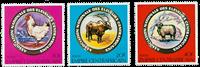 Centralafrika - YT 390-92 - Postfrisk