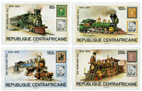 Central Africa - YT 400-403 - Mint
