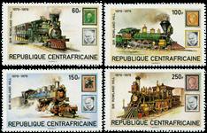Centralafrika - YT 400-403 - Postfrisk