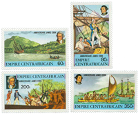 Central Africa - YT 342-45 - Mint