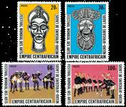 Centralafrika - YT 346-49 - Postfrisk