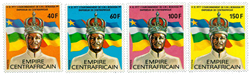 Centralafrika - YT 324-27 - Postfrisk