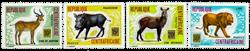 Centralafrika - YT 244-47 - Postfrisk