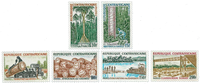 Central Africa - YT 248-53 - Mint