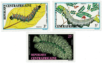 Central Africa - YT 198-200 - Mint