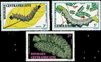 Centralafrika - YT 198-200 - Postfrisk