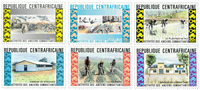 Central Africa - YT 222-27 - Mint