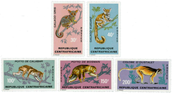 Centralafrika - YT 150-54 - Postfrisk