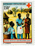 Centralafrika - YT 166 - Postfrisk