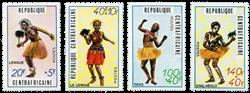 Centralafrika - YT 139-42 - Postfrisk