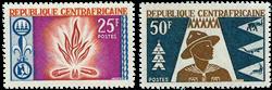Centralafrika - YT 58-59 - Postfrisk