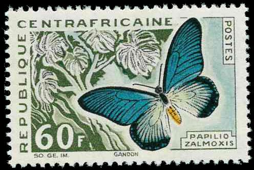 Centralafrika - YT 34 - Postfrisk