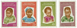 Centralafrika - YT 37-40 - Postfrisk