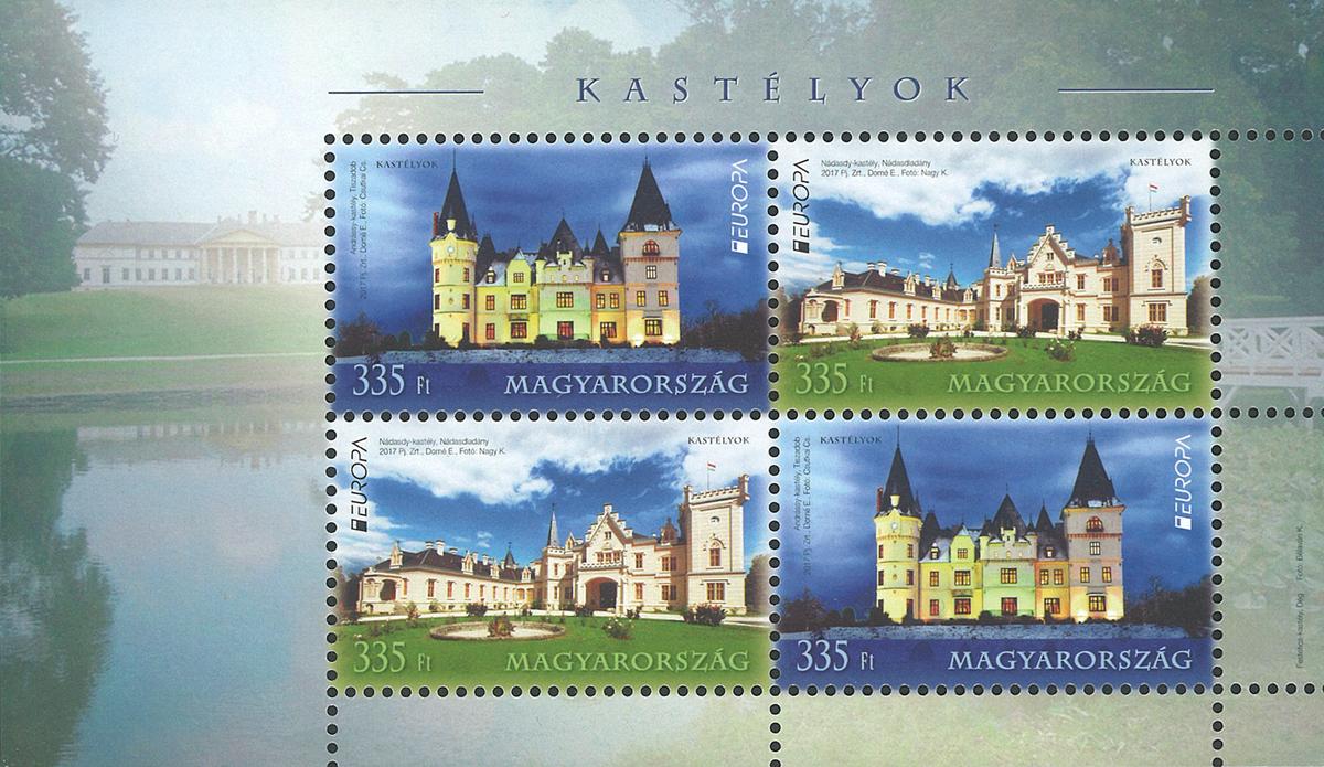 Ungarn - Europa 2017 - Postfrisk miniark